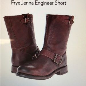 Frye Jenna Engineer Short Boot